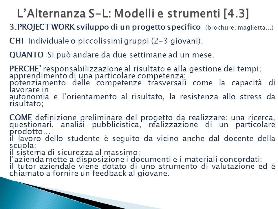 L'Alternanza S-L: Modelli e strumenti [4.3]